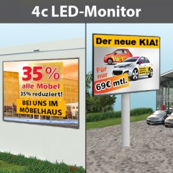 4c LED-Wand