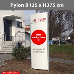 Pylon B125x H375cm