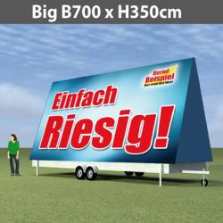 Preise für WerbeRolly-XL Big B700xH350cm-