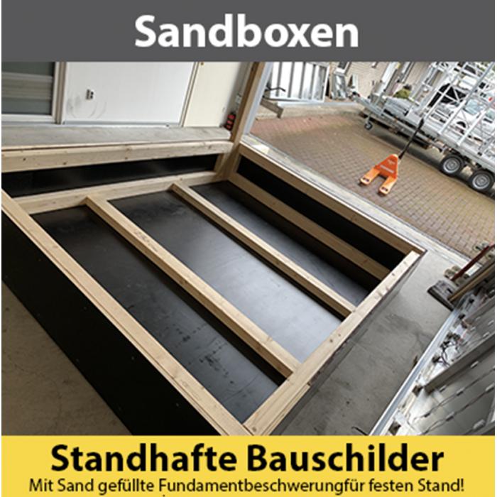Sandboxen Holz/Stahl