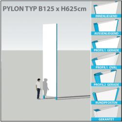 Pylon B125 x bis H625cm